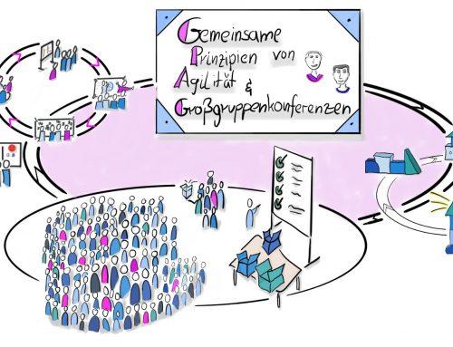 Gemeinsame Prinzipien von  Agilität & Großgruppenkonferenzen